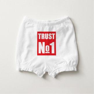 Trust no one diaper cover