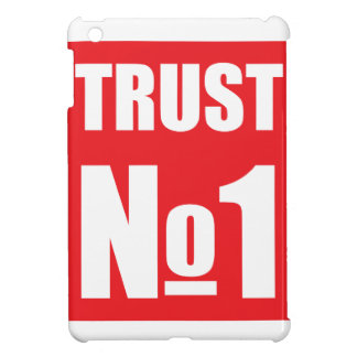 Trust no one iPad mini cover