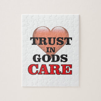 trust on gods care heart jigsaw puzzle