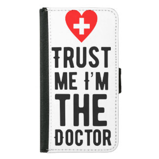 Trust the Doctor Samsung Galaxy S5 Wallet Case