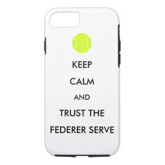 Trust the Federer Serve phone case