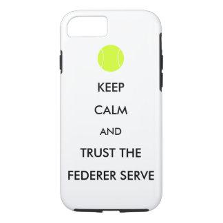 Trust the Federer Serve phone case