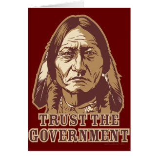 Trust The Government Card