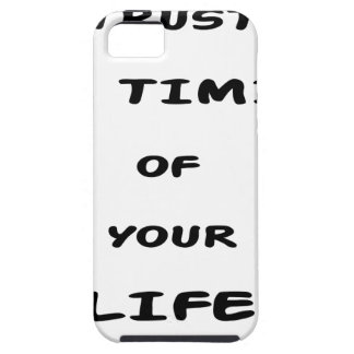 trust the timing of your life iPhone 5 cover