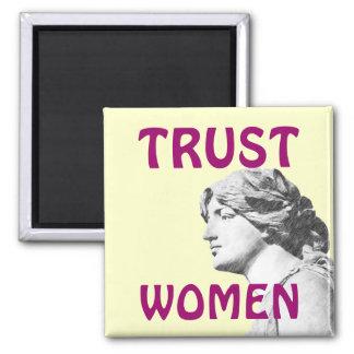 TRUST WOMEN magnet