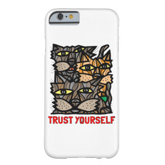 """Trust Yourself"" Glossy Phone Case"
