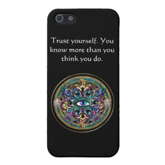 Trust Yourself ~ The Eyes of the World Mandala Case For iPhone 5/5S
