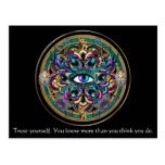 Trust Yourself ~ The Eyes of the World Mandala Post Card