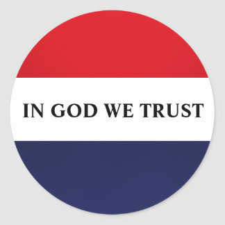 TRUSTING GOD STICKERS