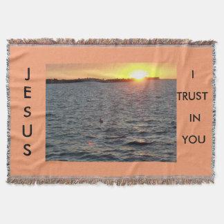 Trusting in Jesus Throw