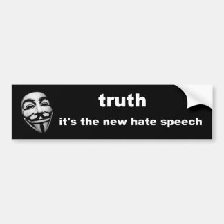 truth bumper sticker
