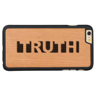 TRUTH CARVED® CHERRY iPhone 6 PLUS CASE