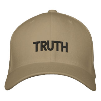 TRUTH EMBROIDERED BASEBALL CAP