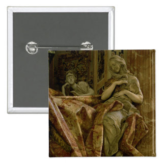 Truth from monument to Alexander VII in north 2 Inch Square Button