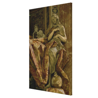 Truth from monument to Alexander VII in north Canvas Print