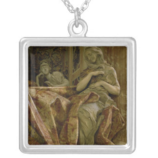 Truth from monument to Alexander VII in north Silver Plated Necklace