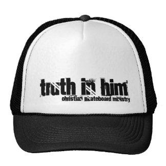Truth in Him (Christian Skateboard Ministry) Trucker Hat