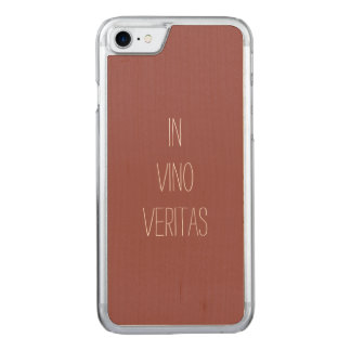 Truth in Wine Carved iPhone 7 Case