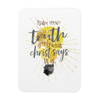 """TRUTH IS"" Christian Magnet,  3""x4"" Magnet"