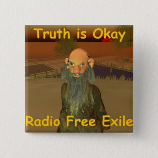 truth is ok 2 inch square button