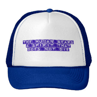 truth, knowledge, wisdom trucker hat