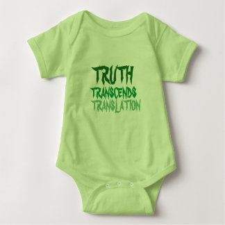 Truth Minty Green Baby Suit Baby Bodysuit