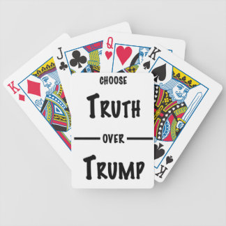 Truth over Trump gifts Bicycle Playing Cards