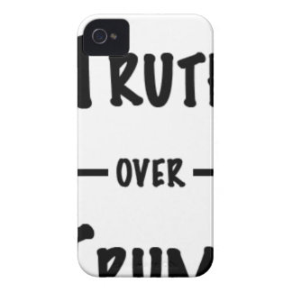 Truth over Trump gifts iPhone 4 Case