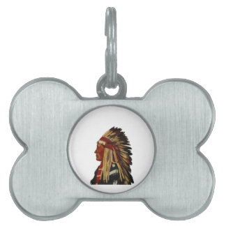 TRUTH PEACE WISDOM PET NAME TAG
