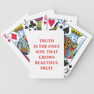 TRUTH POKER DECK