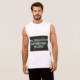 TRUTH SLEEVELESS SHIRT