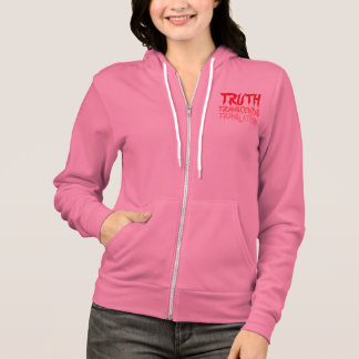 TRUTH TRANSCENDS PINK HOODIE
