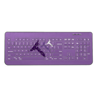 Truth Transcends Translation Purple Keyboard