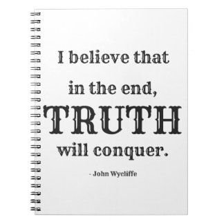 Truth Will Conquer Journal