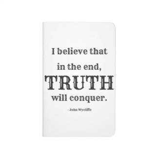 Truth Will Conquer Pocket Journal