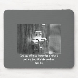 Truth Will Set you Free Mouspad Mouse Pad