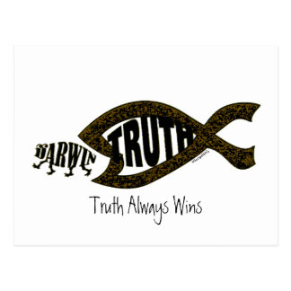Truth Wins Again Postcard