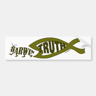 Truth Wins Bumper Sticker