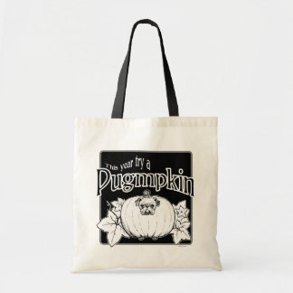 Try a Pugmpkin! Tote Bag
