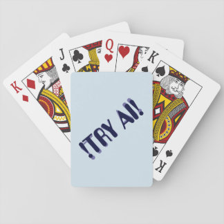 !TRY AI! DECK OF CARDS