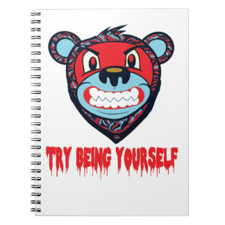 TRY BEING NOTEBOOK