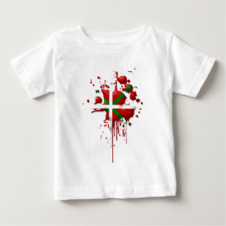 try flag Euskadi Basque Baby T-Shirt