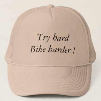 Try hardware Bike Harder Trucker Hat