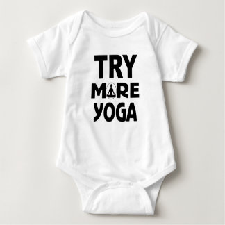 Try more yoga baby bodysuit
