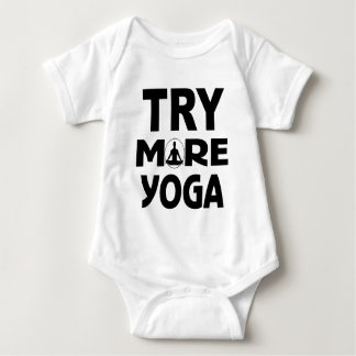 Try more yoga baby bodysuit