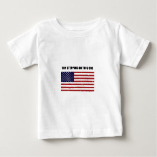 Try Stepping On This One Baby T-Shirt