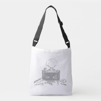 Try to preserve tradition crossbody bag