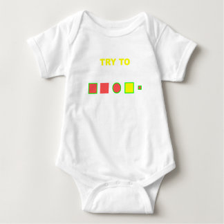 Try to solve this: baby bodysuit