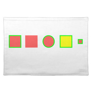 Try to solve this: place mats