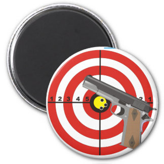 Try to take my guns 2 inch round magnet